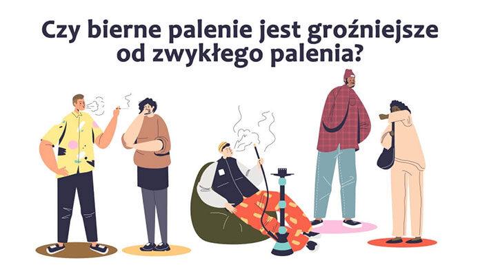 Czy bierne palenie jest groźniejsze od zwykłego palenia